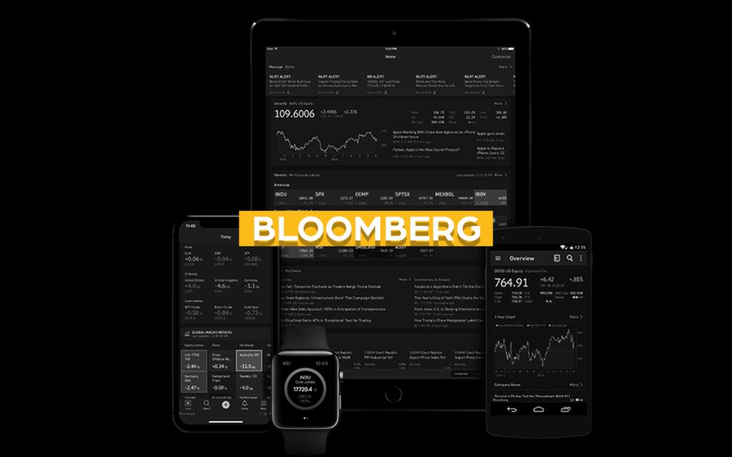 bloomberg app de investimento