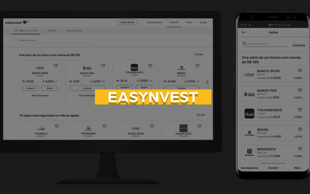 easynvest app de investiments