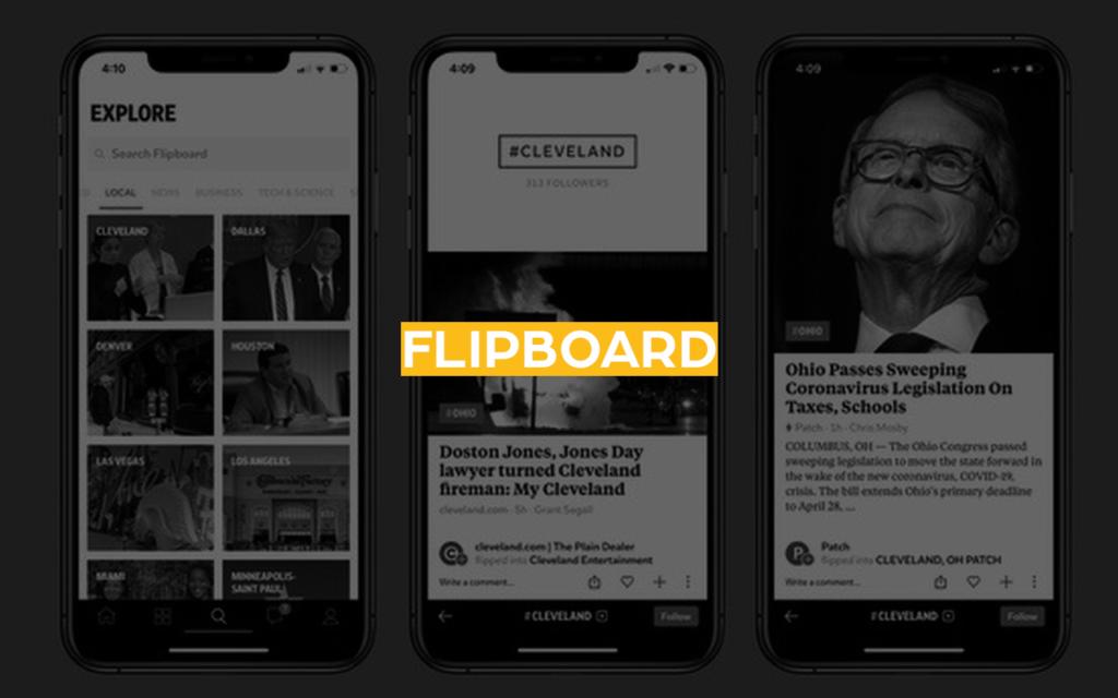 app de investimento flipboard