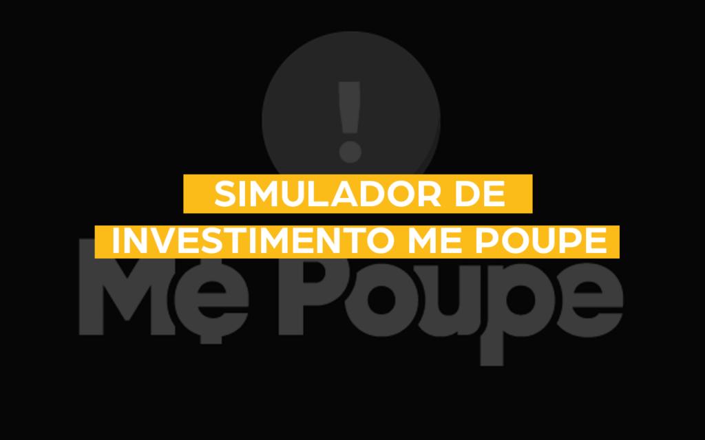 simulador de investimento me poupe